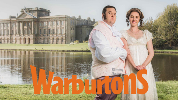 Pride & Breadudice ad for Warburtons