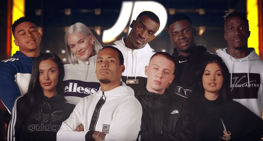 JD Sports #JDComesAlive Christmas TV Advert for 2019